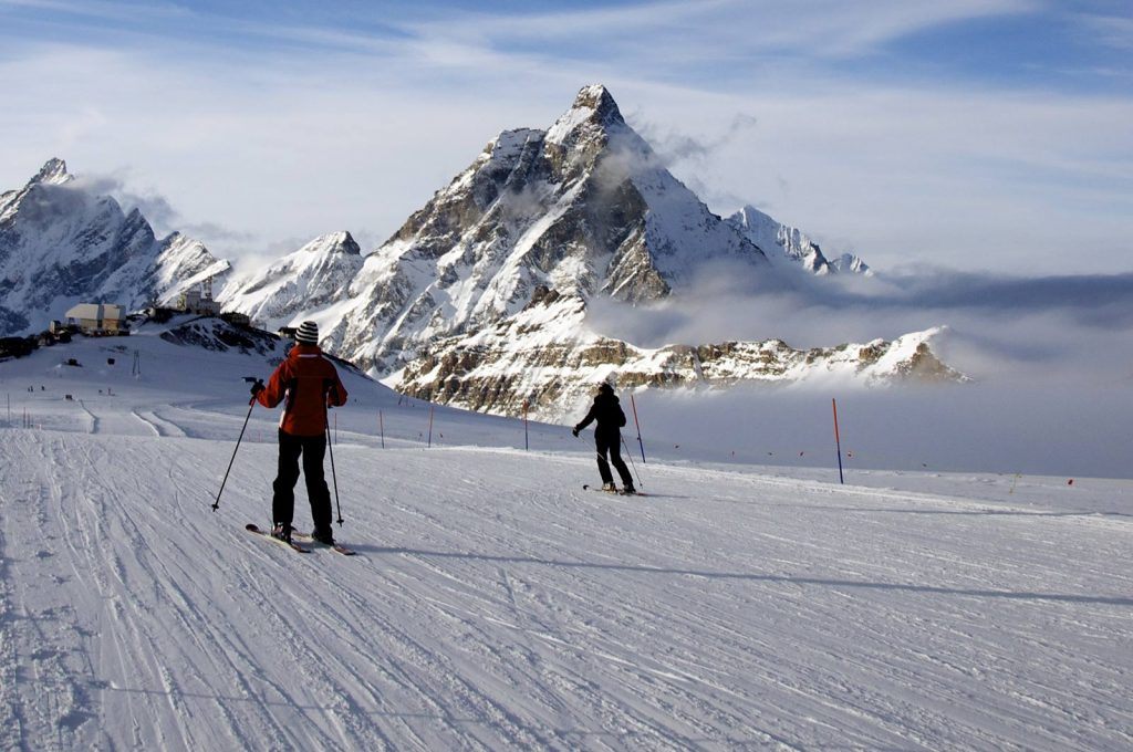sciare a cervinia
